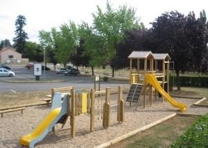 Espace jeux - Ensemble modulaire - Aménagements Bois pour Collectivités - Jean-Paul Husson