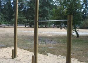 Etirement vertebraux Espace Jeux - Aménagements Bois pour Collectivités - Jean-Paul Husson