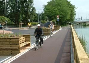 Jardinière banc bois public - Aménagement Extérieur - Aménagements Bois pour Collectivités - Jean-Paul Husson