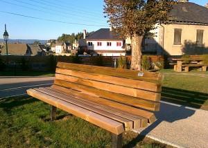 Banc et Mobilier bois - Aménagements Bois pour Collectivités - Jean-Paul Husson
