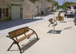 Ensemble mobilier urbain design - Aménagements Urbain pour Collectivités - Jean-Paul Husson