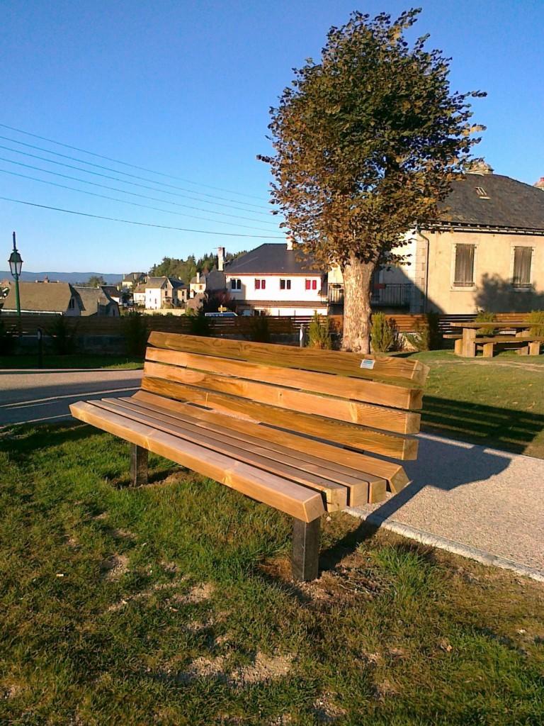 banc et mobilier bois am 233 nagements bois pour collectivit 233 s jean paul husson jean paul husson