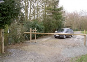 Barriere basculante - Aménagements Bois pour Collectivités - Jean-Paul Husson