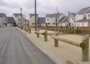 Barriere bois de circulation -- Aménagements Bois pour Collectivités - Jean-Paul Husson