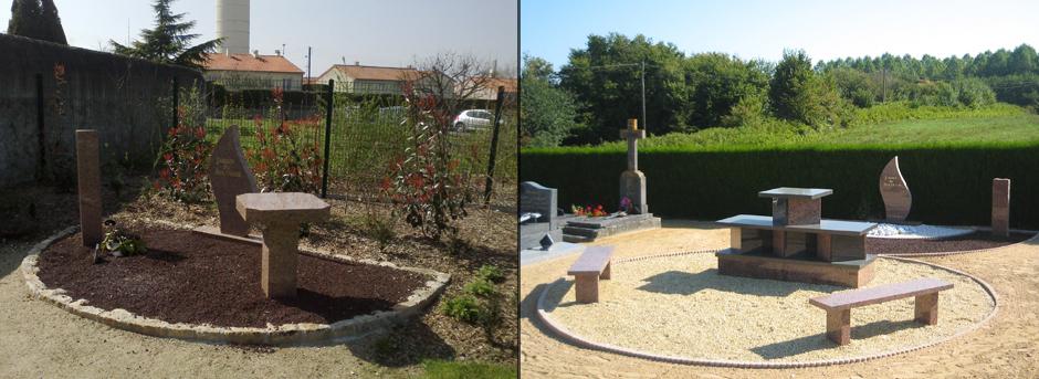Jardin du Souvenir - Columbarium Munier - Espace Cineraire - Aménagement pour Collectivités - Jean-Paul Husson