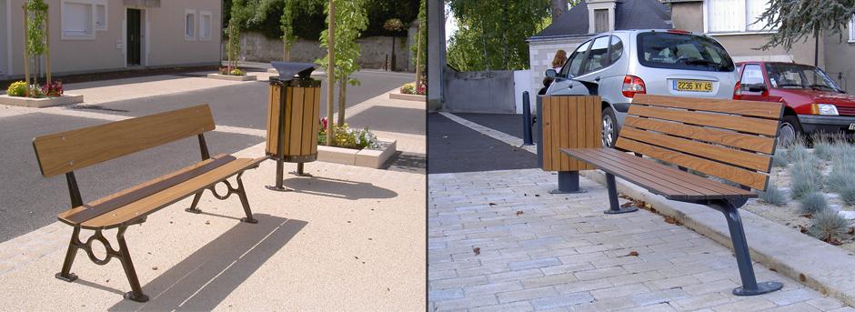 Mobilier Urbain - Buton Design - Jean-Paul Husson - Aménagement pour collectivités