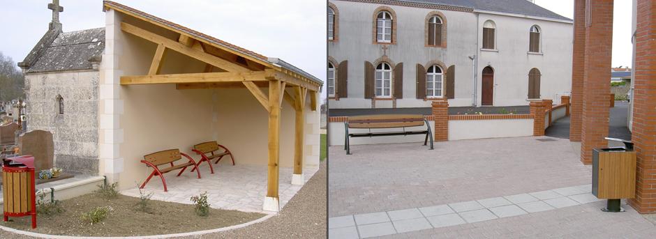 Mobilier Urbain - Buton Design - Jean-Paul Husson - Aménagement pour ...