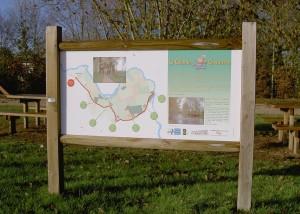 Panneau d'Information - - Aménagements Bois pour Collectivités - Jean-Paul Husson