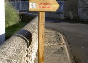 Panneau d'Information - Aménagements Bois pour Collectivités - Jean-Paul Husson