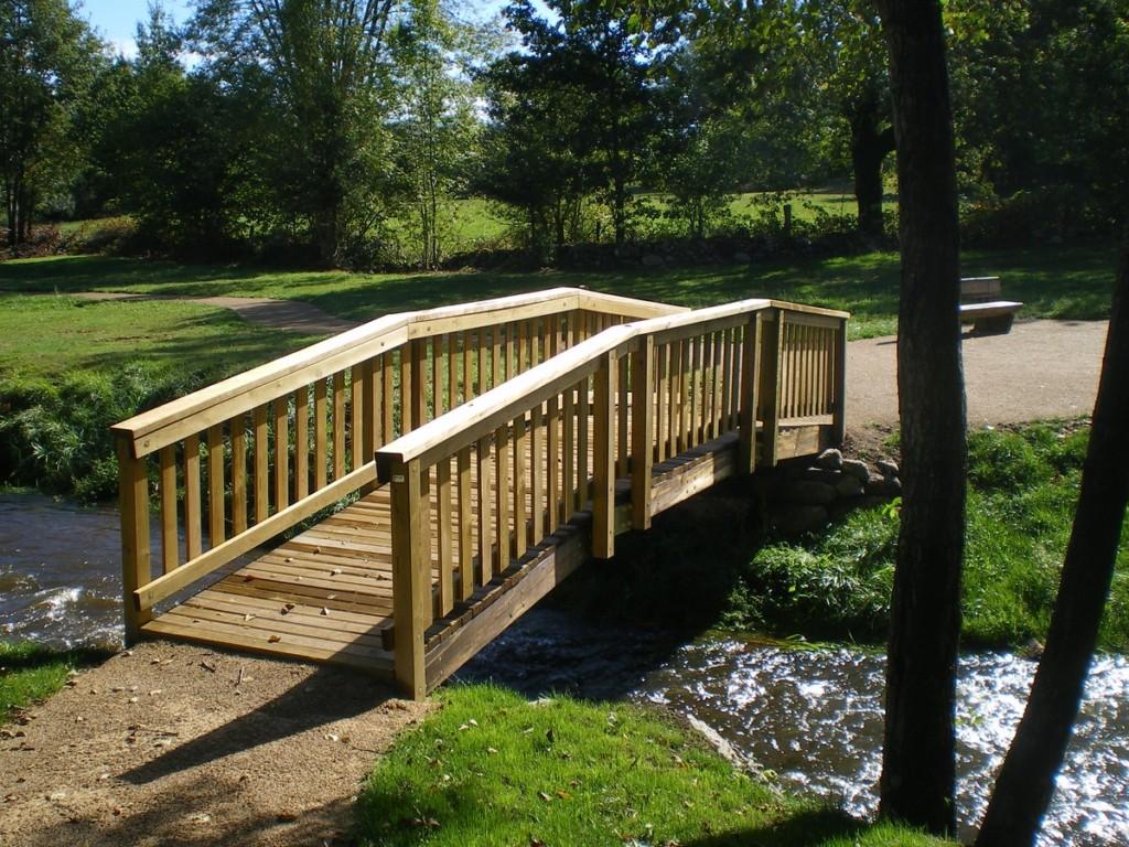 Pont bois - - Aménagements Bois pour Collectivités - Jean-Paul Husson