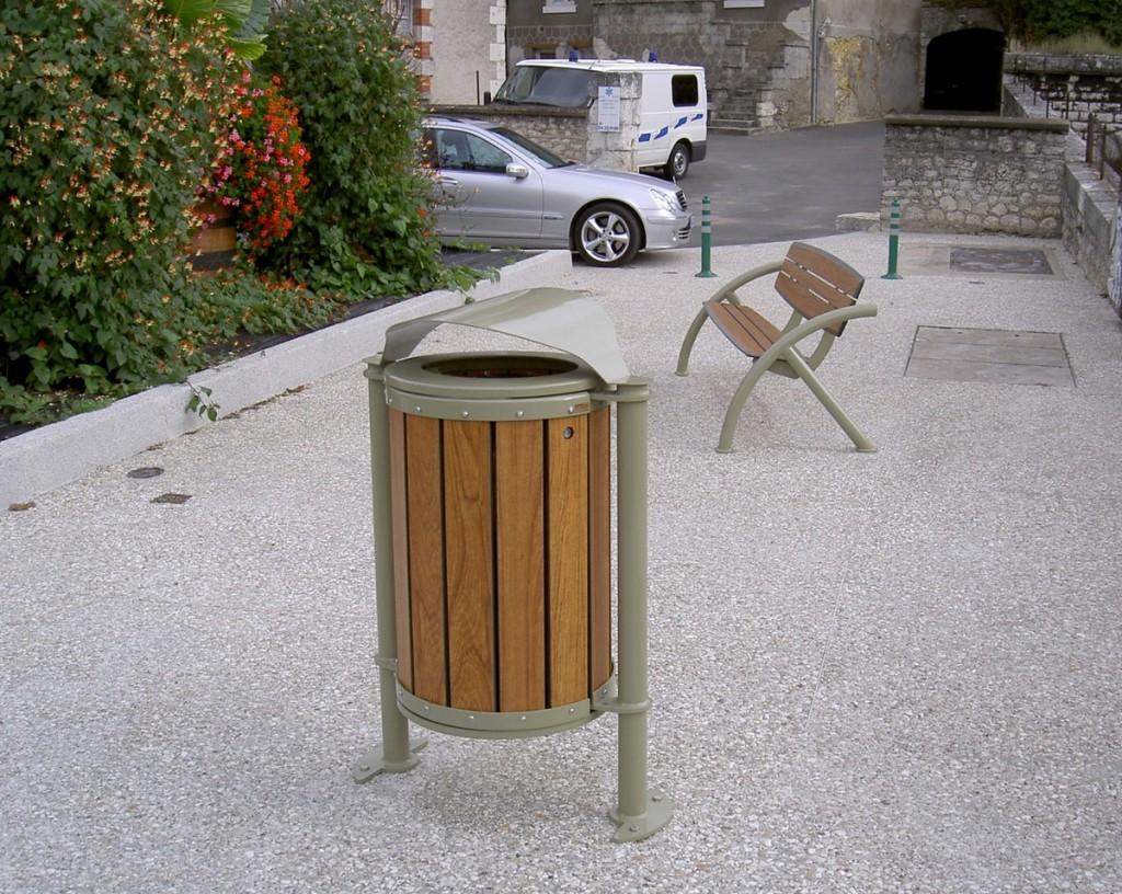 ensemble mobilier bois metal design am nagements urbain pour collectivit s jean paul husson. Black Bedroom Furniture Sets. Home Design Ideas