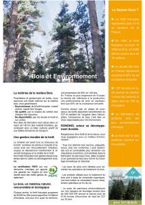 Bois et Environnement - G.Rondino - Jean-Paul Husson - Aménagements pour collectivités
