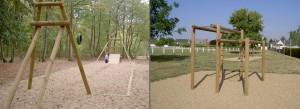 Parcours Santé - Jean-Paul Husson - Aménagement Bois pour collectivité