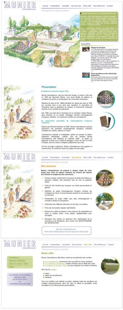 Jean Paul Husson - Aménagement d'espace cinéraire Munier pour les mairies et collectivités