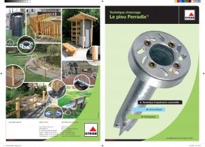 Pieux Ferradix - Solution pour ancrage de mobilier urbain - Ferradix - Jean-Paul Husson - Aménagement et équipement pour collectivité