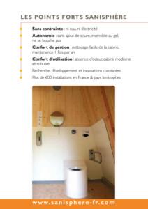 SANISPHERE - Toilette Publique Autonome pour Collectivités - Jean-Paul Husson
