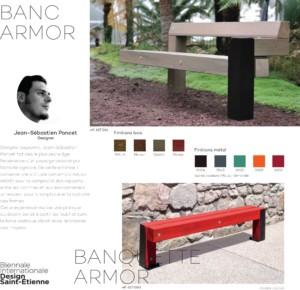 Mobilier Urbain Rondino - Armor Swell - Jean-Paul Husson - Aménagement Collectivités